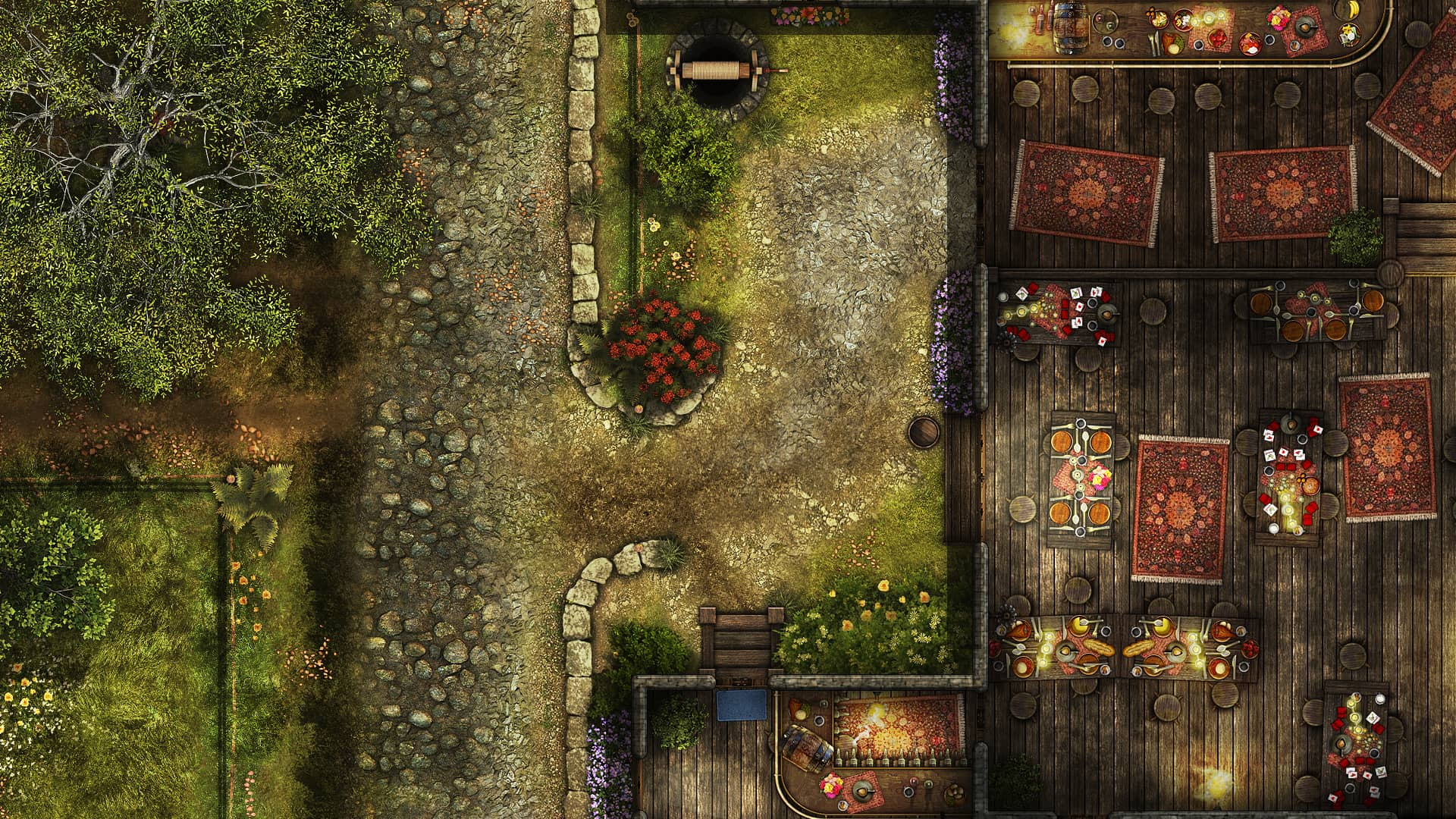 The Welshly Arms Inn Store Skirmish Virtual Tabletop